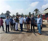 محافظ الشرقية يقود حملة مكبرة لرفع الإشغالات بطريق بلبيس - القاهرة الصحراوي