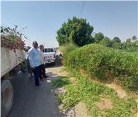 رفع 35 طن من الأتربة والمخلفات الصلبة بمدينة إسنا في الأقصر