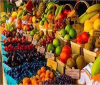 أسعار الفاكهة في سوق العبور الأحد 5 سبتمبر