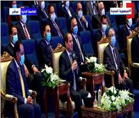 الرئيس السيسي: «الـ 100 مليار جنيه اللي كنا بنحلم بيها مجتش لحد دلوقتي»