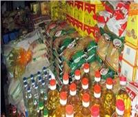 ضبط بقال تمويني بحوزته 2 طن سكر وزيت مدعم قبل بيعها في السوق السوداء