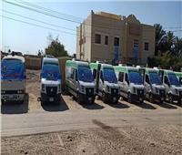 «صحة المنيا» تنظم قافلة طبية لأهالي قرية الناصرية