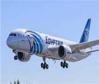 مصر للطيران استأنفت أولى رحلاتها من مطار القاهرة اليوم