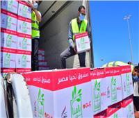تخصيص 26 ألف كرتونة غذائية ضمن قافلة «أبواب الخير» التي دشنها الرئيس