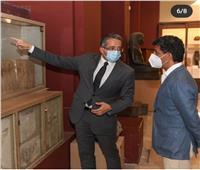 وزير السياحة السعودي يزور المتحف المصري بالتحرير  صور
