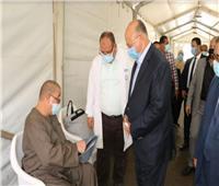 استعدادا للموجة الرابعة.. محافظ القاهرة يتفقد مستشفى عزل الصدر بالعباسية