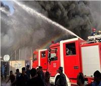 «الحماية المدنية» تنقذ حياة 3 موظفين وتسيطر على حريق شركة بالجيزة
