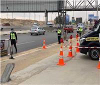 المرور يدفع بسيارات الإغاثة على الطرق السريعة