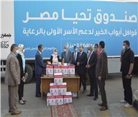 محافظ الجيزة: انطلاق أسطول قافلة أبواب الخير التي دشنها الرئيس السيسي | فيديو