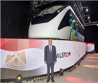 بينها القطار الكهربائي والمونوريل.. «النقل» تستعرض الصقفات الجديدة أمام الرئيس  صور