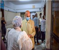 إقبال متزايد علي مراكز التطعيم بلقاح كورونا بالشرقية