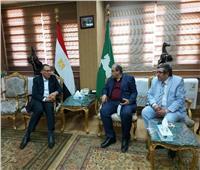 محافظ الشرقية يؤكد على المشاركة في تنفيذ المبادرات الرئاسية