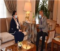 «أبو الغيط» يستقبل مديرة المكتب الإقليمي لبرنامج الأمم المتحدة الإنمائي