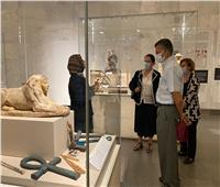 بالصور... متحف الحضارة يستقبل الأمين العام المساعد للأمم المتحدة