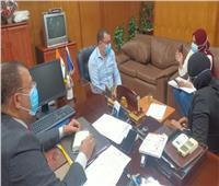 مسؤول المشروعات بمجلس الوزراء يتابع معدلات تنفيذ المجمع الطبي في السويس