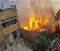 مصدر أمني حريق مخزن أخشاب بالشرابية امتد لمخزن آخر