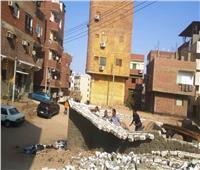 إزالة تعديات وإشغالات على مساحة 450 م٢ بمدينة أسوان