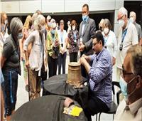 «المتحف القومى» يعرض بانوراما تاريخية وحضارية للسياحة   صور
