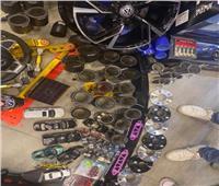 ضبط صاحب مصنع يقوم بتصنيع إطارات السيارات من مواد مجهولة بالمرج