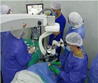 إجراء 4 عمليات لإزالة المياه البيضاء بمستشفي الرمد بالزقازيق