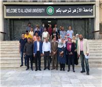 إقبال كبير على قافلة جامعة الأزهر الطبية بقرية «طحا المرج» بالشرقية