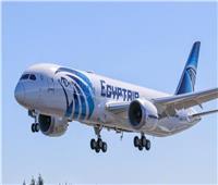 مصر للطيران سيرت 89 رحلة جوية لنقل 11212 راكبا لمختلف دول العالم