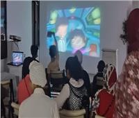ثقافة المنيا تقدم عروض لأفلام رسوم متحركة وكارتون للأطفال