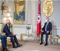 الرئيس التونسي يستقبل ممثل الشؤون الخارجية والسياسة الأمنية بالاتحاد الأوروبي