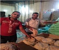 ضبط 10 مخابز يقومون بإنتاج خبز ناقص الوزن خلال حملة تموينية بالبحيرة