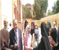 قافلة شاملة من جامعة الزقازيقلعلاج المواطنين بقرية جزيرة برد في الشرقية