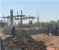إزالة حالة تعدي على أرض زراعية بمحافظة أسيوط