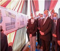 وزيرة الصحة ومحافظ القاهرة يتفقدان أعمال إنشاء مستشفى بولاق أبو العلا