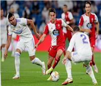 نهاية الشوط الأول  سيلتا فيجو يتقدم على ريال مدريد بثنائية
