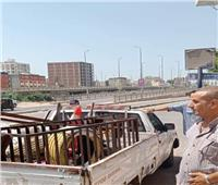 بالصور: إزالة 214 مخالفة إشغال طريق و 27 فرش متنوع خلال حملة مكبرة بكفر الدوار