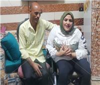 غرام ذوي الهمم| محمود يغير تصميمات المنزل من أجل عيون «شيرين»