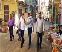 جولات ميدانية للمحافظ لمتابعة أعمال الرصف والنظافة بمدن الشرقية