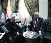 مفتي الجمهورية يستقبل أمين عام رابطة الجامعات الإسلامية لبحث تعزيز التعاون