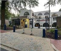 دعما لأسرى «جلبوع».. متظاهرون يلقون «الملاعق» أمام سفارة إسرائيل بواشنطن
