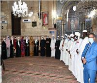 جولة ميدانية للأئمة السودانيين بمسجدي الجامع الأزهر والإمام الحسين بالقاهرة
