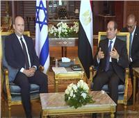 السيسي: تفاهم مشترك مع إسرائيل فيما يخص حل لسد النهضة
