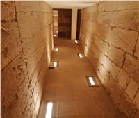 جولة لبوابة أخبار اليوم  داخل المقبرة الجنوبية للملك زوسر بسقارةعقب افتتاحها