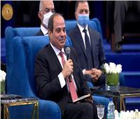 الرئيس السيسي : مصر حاربت في مجال التنمية بالتزامن مع مقاومة الإرهاب
