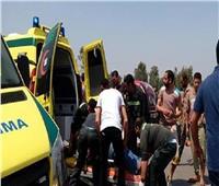 مصرع شخصين في حادث سيارة بـ«وصلة دهشور» الشيخ زايد