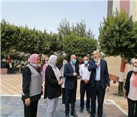 محافظة القاهرة تتابع استعدادات مصر الجديدة التعليمية للعام الدراسي الجديد