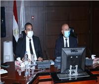 وزير النقل يبحث مع نظيره الليبي أوجه التعاون بين الجانبين