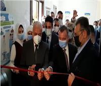 «صقر» يفتتح وحدة القسطرة القلبية بمستشفى السويس العام