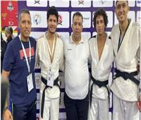 جودو الزمالك يحصد المركز الثاني بالبطولة العربية