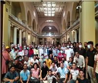 المتحف المصري يستقبل 200 شاب وفتاة من المشاركين فى برنامج «أمل مصر لأبناء المحافظات الحدودية»