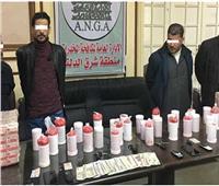 القبض على5 أفراد من عائلة بحوزتهم كيلو ونصف أفيون وشابو بسوهاج