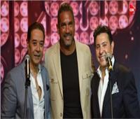 شاهد  هاني شاكر ومدحت صالح يشعلان أجواء «سهرانين»